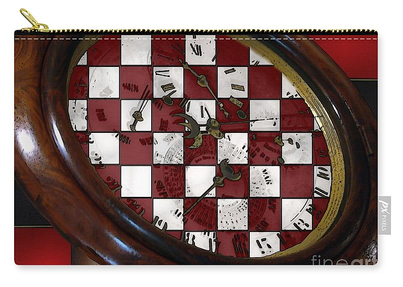 Antique Carry-all Pouch featuring the painting Checkmate by RC DeWinter