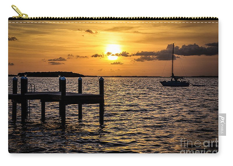 Sailboat Carry-all Pouch featuring the photograph Cherish The Night by Rene Triay Photography