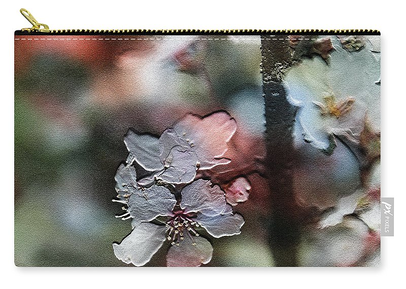 Flower Carry-all Pouch featuring the photograph Cherry Blossoms by Ericamaxine Price