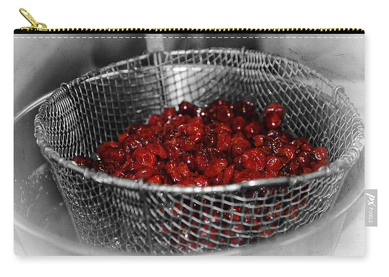 Cherry Carry-all Pouch featuring the photograph Cherry Bowl by Annette Persinger