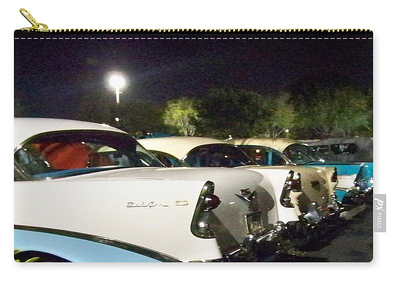 Chevy Carry-all Pouch featuring the photograph Chevy Row by Chuck Hicks
