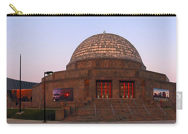 3scape Photos Carry-all Pouch featuring the photograph Chicago's Adler Planetarium by Adam Romanowicz