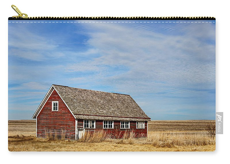 Chicken Coops Carry-all Pouch featuring the photograph Chicken Coop - 2 by Nikolyn McDonald