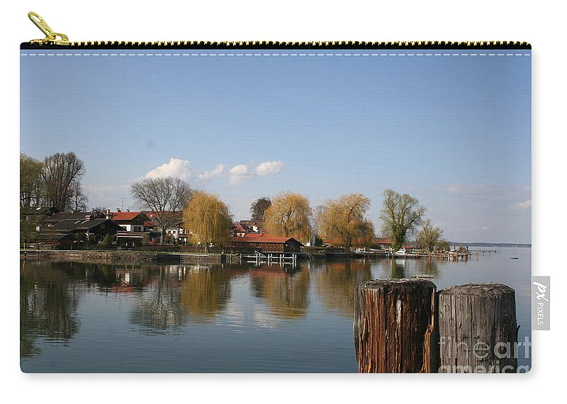 Lake Carry-all Pouch featuring the photograph Chiemsee - Germany by Christiane Schulze Art And Photography