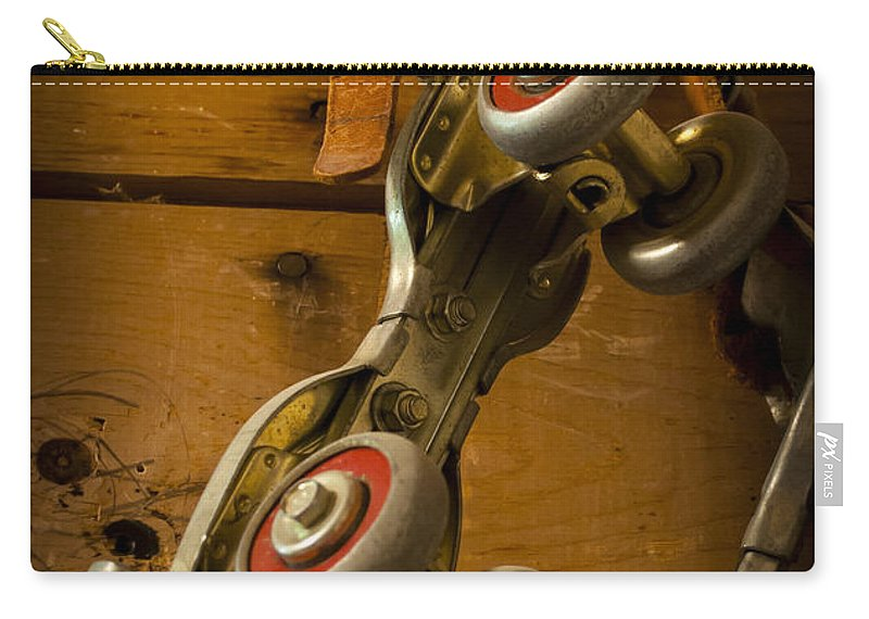 Skate Carry-all Pouch featuring the photograph Childhood Moments by Fran Riley