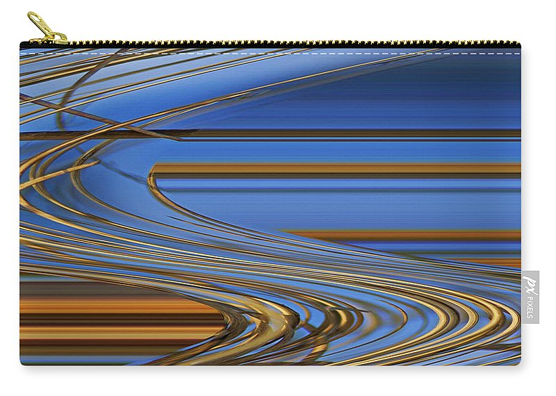 Chocolate Carry-all Pouch featuring the digital art Chocolate by Carol Lynch