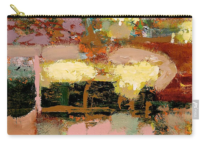 Landscape Carry-all Pouch featuring the painting Chopped Liver by Allan P Friedlander
