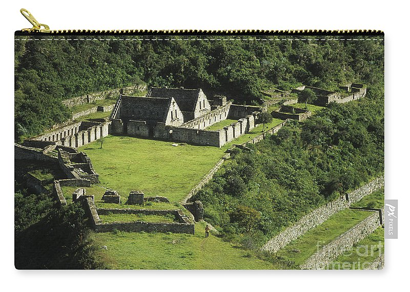 Peru Carry-all Pouch featuring the photograph Choquequirao by James Brunker
