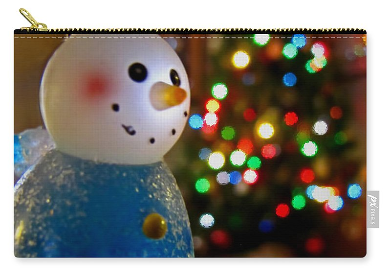 Nature Carry-all Pouch featuring the photograph Christmas Card II by Debbie Portwood
