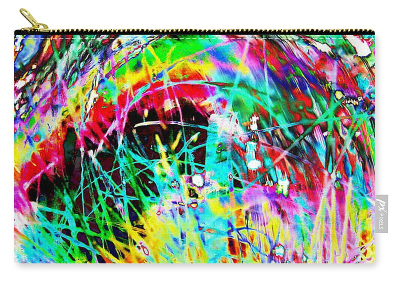 Christmas Carry-all Pouch featuring the digital art Christmas by Carol Lynch
