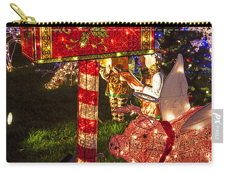 Christmas Mailbox.Christmas Mailbox Carry All Pouch