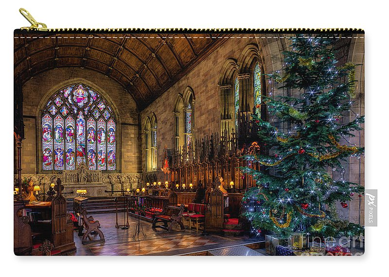 Christmas Carry-all Pouch featuring the photograph Christmas Time by Adrian Evans