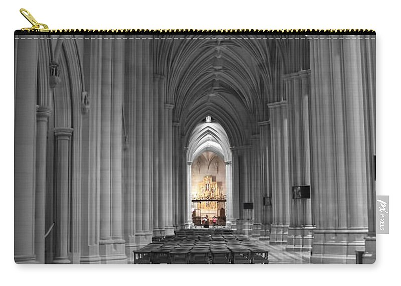 Church Carry-all Pouch featuring the photograph Church I by Carlos Diaz
