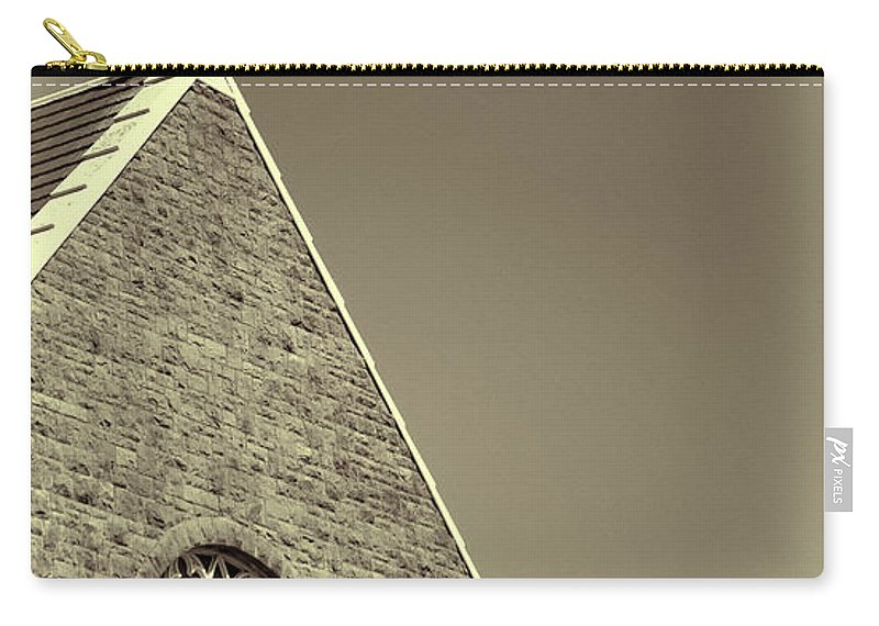 Carry-all Pouch featuring the photograph Church In Tacoma Washington 3 by Cathy Anderson