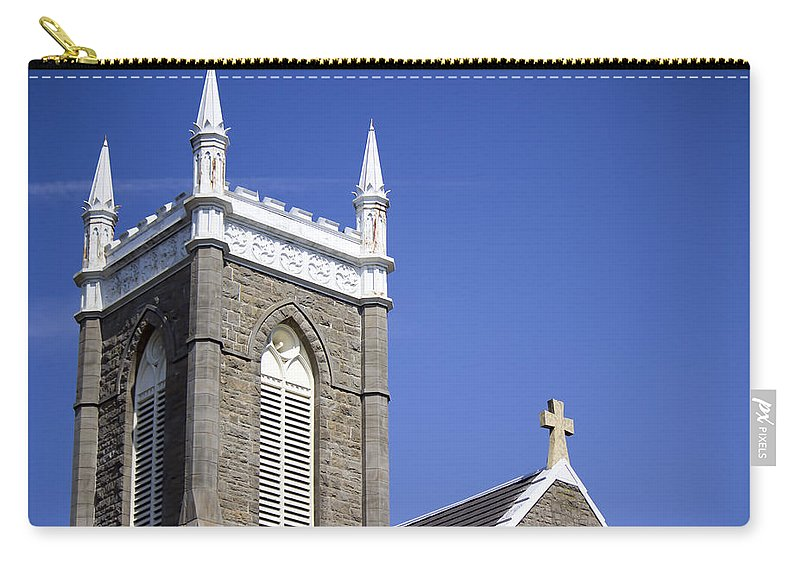 Carry-all Pouch featuring the photograph Church In Tacoma Washington 4 by Cathy Anderson
