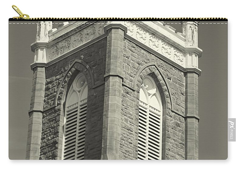 Carry-all Pouch featuring the photograph Church In Tacoma Washington by Cathy Anderson