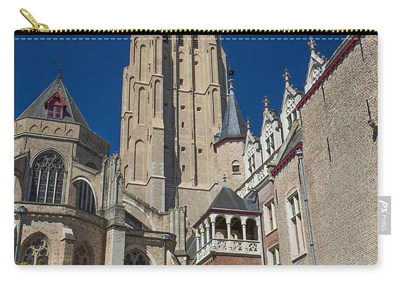 Belgium Carry-all Pouch featuring the photograph Church Of Our Lady In Bruges by Jaroslav Frank