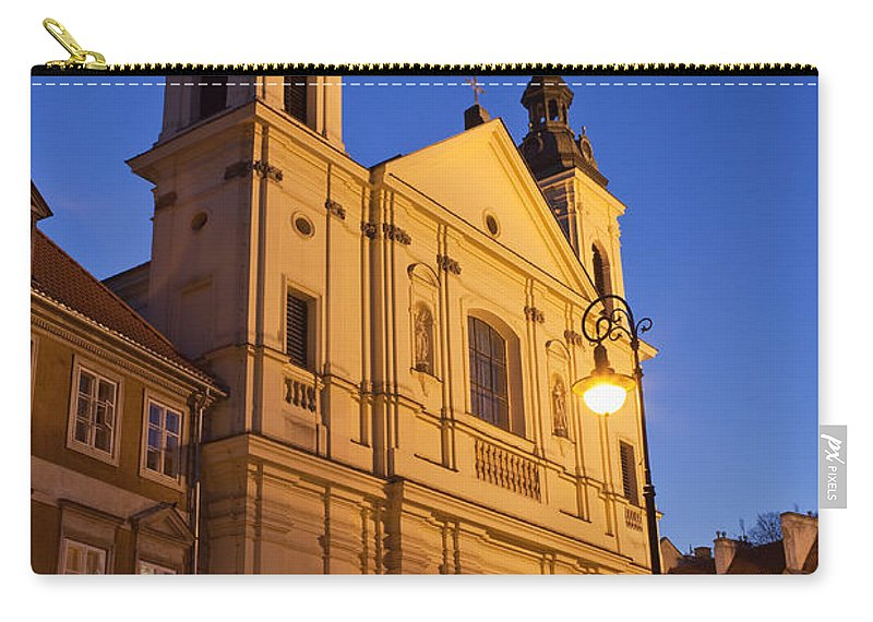 17th Carry-all Pouch featuring the photograph Church Of The Holy Spirit In Warsaw by Artur Bogacki