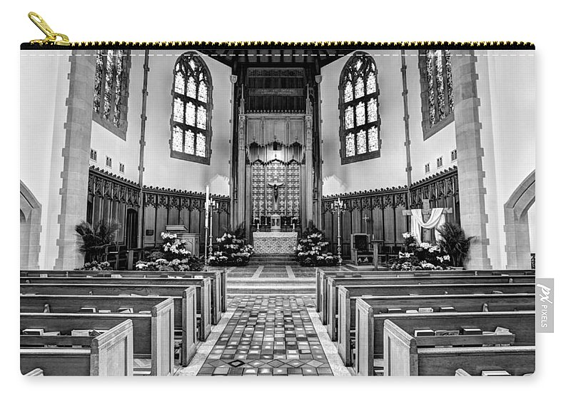 Mn Church Carry-all Pouch featuring the photograph Church Of The Nativity by Amanda Stadther