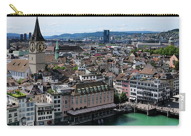 Tranquility Carry-all Pouch featuring the photograph Church Sankt Peter by Werner Büchel