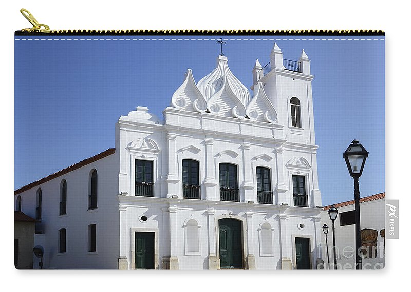 Church Carry-all Pouch featuring the photograph Church Sao Luis Brazil by Bob Christopher
