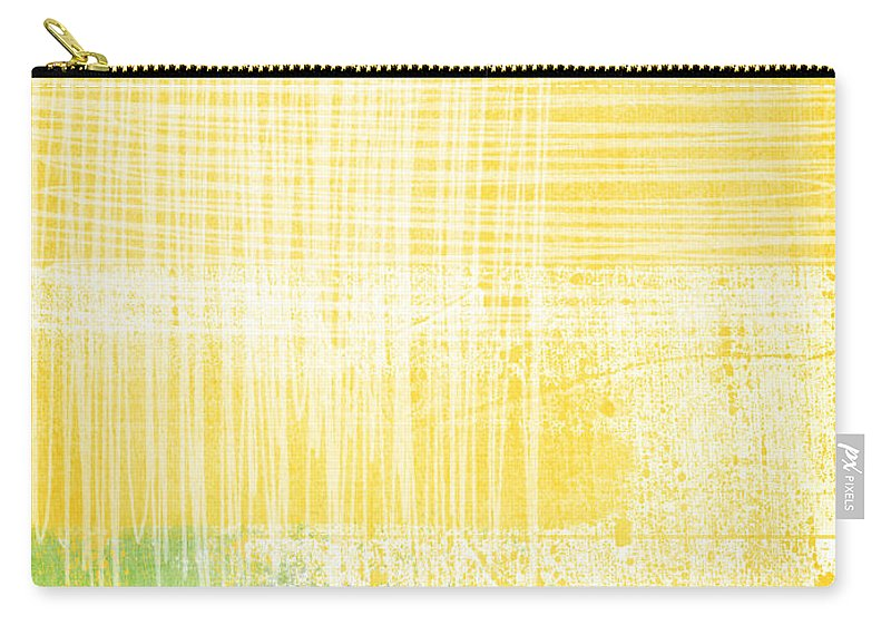 Abstract Painting Carry-all Pouch featuring the painting Circadian by Linda Woods