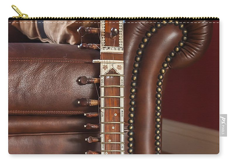 Acoustic Carry-all Pouch featuring the photograph Citar by Svetlana Sewell