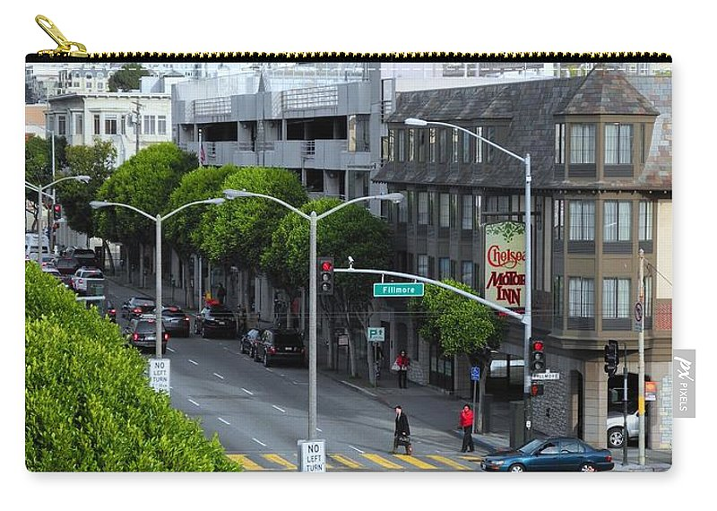 San Francisco Carry-all Pouch featuring the photograph City View by Sue McElligott