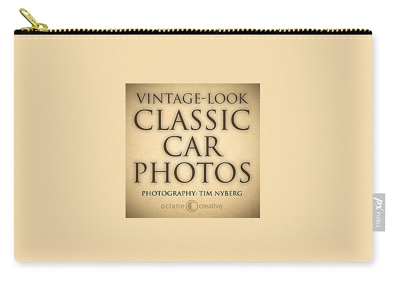 Carry-all Pouch featuring the painting Classic Car Photo Title Nfs by Tim Nyberg