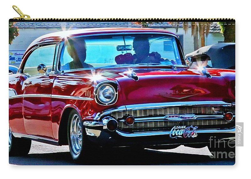 Cars Carry-all Pouch featuring the photograph Classic Chevrolet by Tap On Photo
