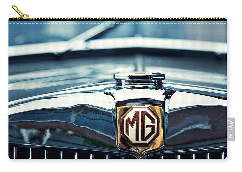 Mg Wa Carry-all Pouch featuring the photograph Classic Marque by Dave Bowman