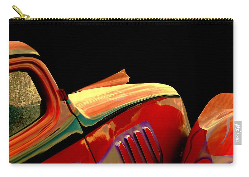 Car Carry-all Pouch featuring the photograph Classic Sport by Diana Angstadt