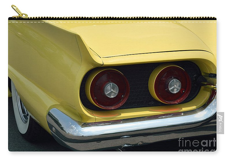 Thunderbird Carry-all Pouch featuring the photograph Classic Thunderbird 2 by Alys Caviness-Gober
