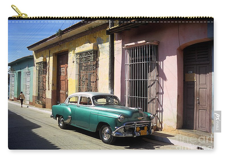 Cuba Carry-all Pouch featuring the photograph Classic Trinidad by James Brunker