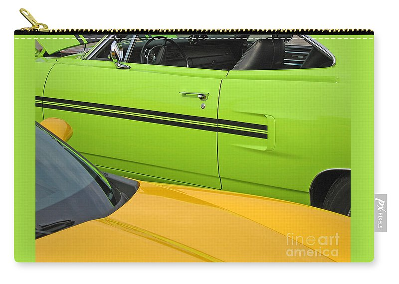 Car Carry-all Pouch featuring the photograph Classy Classics by Ann Horn