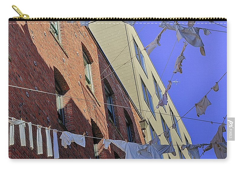 Laundry Carry-all Pouch featuring the photograph Cleaning Day 1 by Scott Campbell
