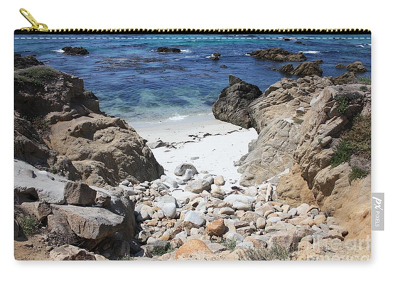 Landscape Carry-all Pouch featuring the photograph Clear California Cove by Carol Groenen