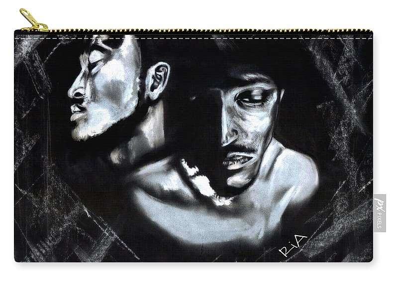 Man Carry-all Pouch featuring the photograph Clear Conscience by Artist RiA