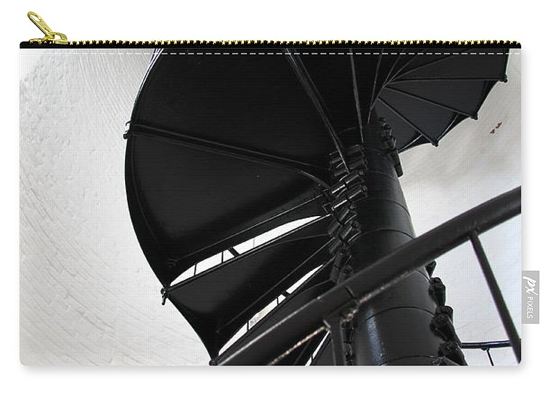 Lighhouse Stairs Carry-all Pouch featuring the photograph Climb Up To The Sky by Christiane Schulze Art And Photography