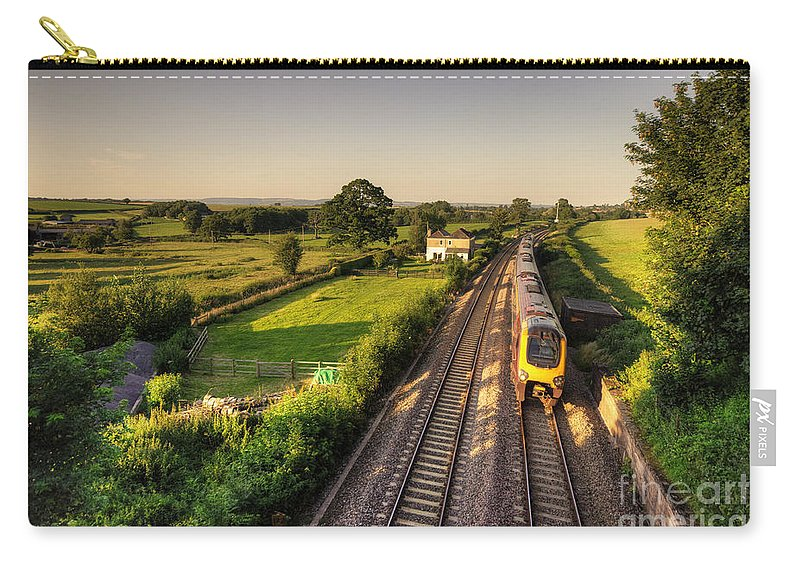 Wellington Carry-all Pouch featuring the photograph Climbing Whiteball by Rob Hawkins