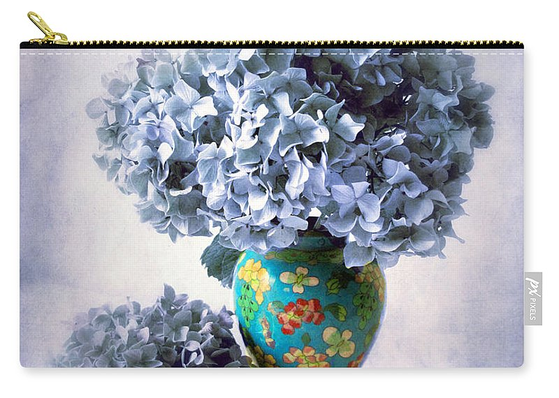 Cloisonne Carry-all Pouch featuring the photograph Cloisonne by Jessica Jenney