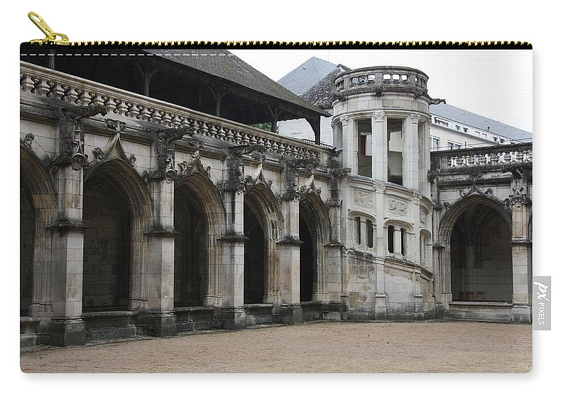 Cloister Carry-all Pouch featuring the photograph Cloister And Staircase Cathedral Tours by Christiane Schulze Art And Photography