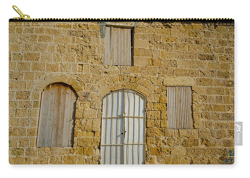 Jaffa Carry-all Pouch featuring the photograph Closed For Business by David Morefield