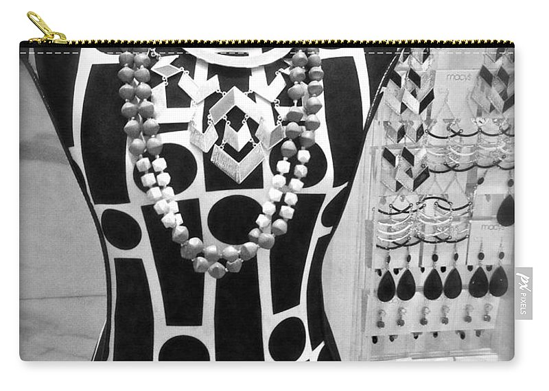Fashion Carry-all Pouch featuring the photograph Clothes Horse by Alice Gipson