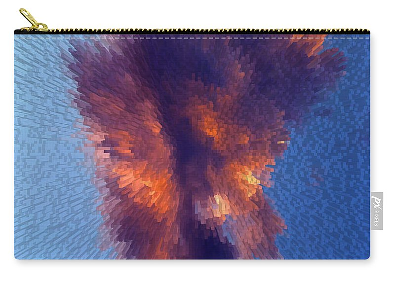 Cloud Carry-all Pouch featuring the photograph Cloud Above Sin City by Carl Deaville
