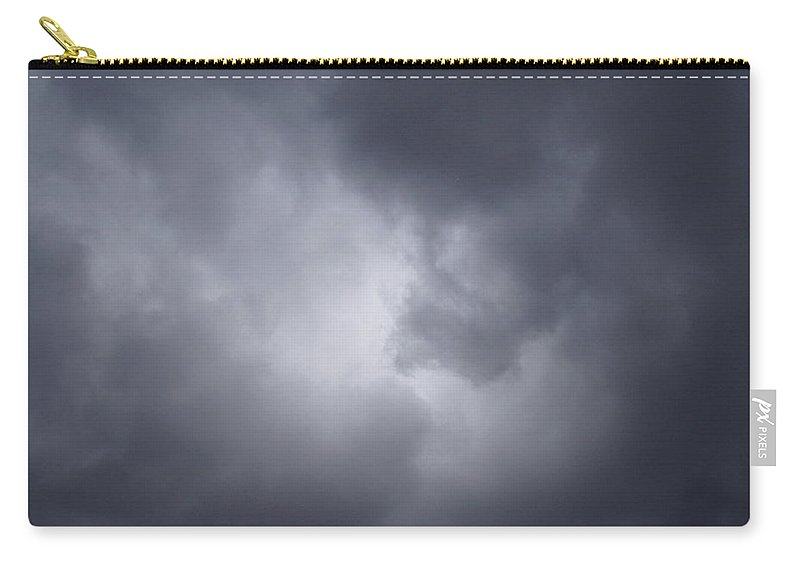 Clouds Carry-all Pouch featuring the photograph Cloud Energy by Deborah Crew-Johnson