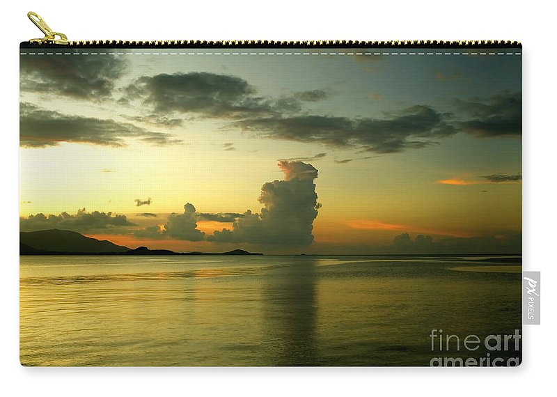 Michelle Meenawong Carry-all Pouch featuring the photograph Cloud Formation by Michelle Meenawong