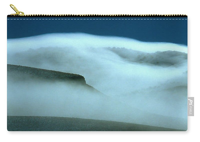 Mountains Carry-all Pouch featuring the photograph Cloud Mountain by Ed Riche