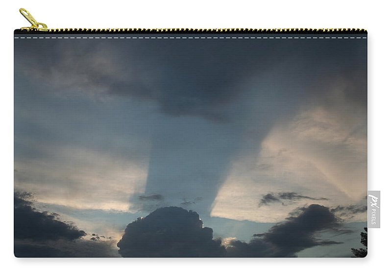 Sky Carry-all Pouch featuring the photograph Cloud Shadow by David S Reynolds