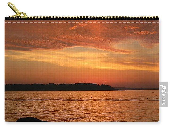 Maine Carry-all Pouch featuring the photograph Cloud Shadows by Jean Goodwin Brooks